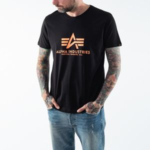 Alpha Industries Basic Tee Neon Print