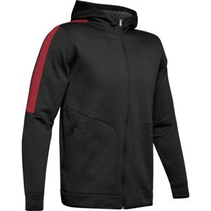 Under Armour Athlete Recovery Fleece Full Zip-BLK