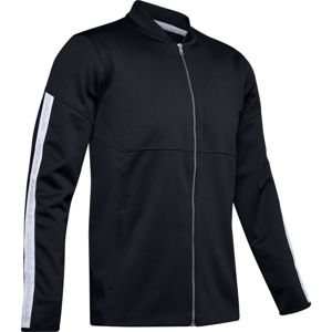 Under Armour Athlete Recovery Knit Warm Up Top-BLK