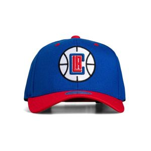 Cap Mitchell & Ness snapback Los Angeles Clippers royal/red Team Logo 2-Tone 110 Snapback