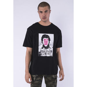 Cayler & Sons CSBL For Life Semi Box Tee black/pink
