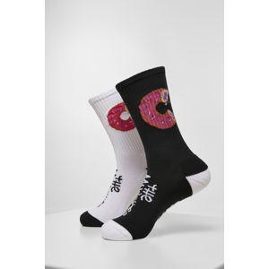 Cayler & Sons Munchies Socks 2-Pack black/white
