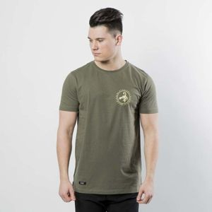 Cayler & Sons t-shirt Black Label Long Scallop Back Tee olive