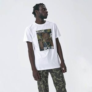 Cayler & Sons WHITE LABEL t-shirt 2Pac Rollin Tee white / mc