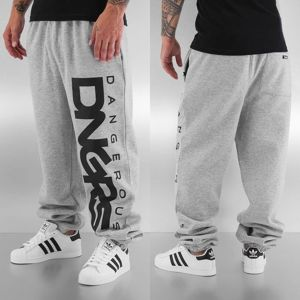 Dangerous DNGRS *B-Ware* Classic Sweat Pants Grey