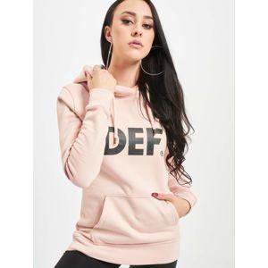 DEF / Hoodie Lumos in rose