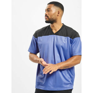 DEF / T-Shirt Pitcher in blue