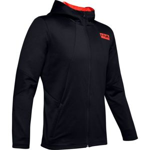 Under Armour Gametime Fleece FZ-BLK