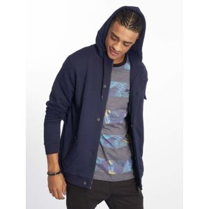 Just Rhyse / Zip Hoodie Malina Bay in blue