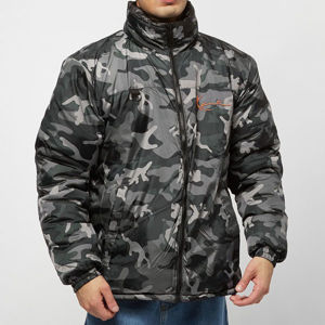 Zimní Bunda Karl Kani OG Reversible Camo Puffer Winter Jacket black