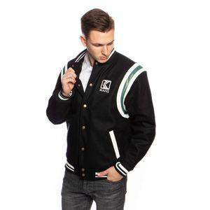 Karl Kani OG Wool Blend College Jacket black