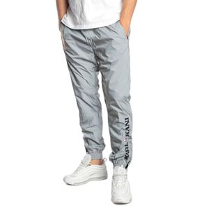 Karl Kani Retro Reflective Trackpants silver