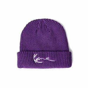Karl Kani Signature Fisherman Beanie purple