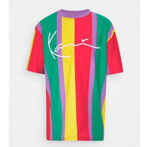 Triko Karl Kani Signature Tee Purple Red Yellow