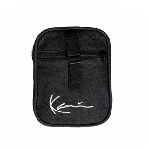 Karl Kani Washed Tape Messenger dark grey