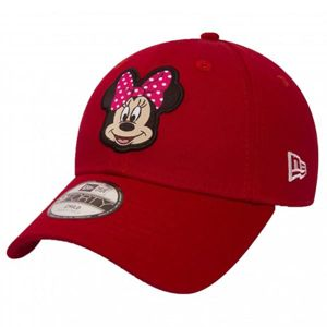 Dětská kšiltovka New Era 9Forty Child Disney Patch Minnie Mouse Red