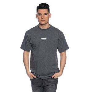 Mass Denim Classics Small Logo T-shirt dark heather grey