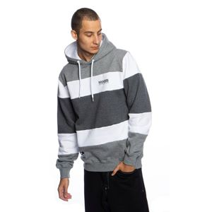 Mass Denim Sweatshirt Layer Hoody white/heather grey