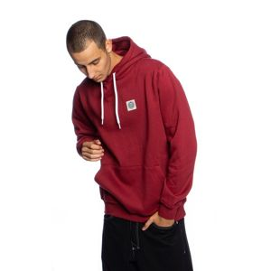 Mass Denim Sweatshirt Patch Hoody claret
