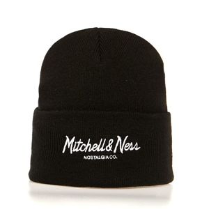 Mitchell & Ness Beanie Own Brand black Pinscript Cuff Knit