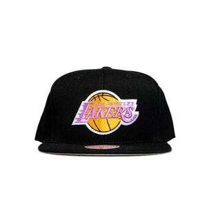 Mitchell & Ness cap snapback Los Angeles Lakers black Wool Solid Snapback