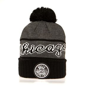 Mitchell & Ness Chicago Bulls Beanie black Reflective Patch Knit
