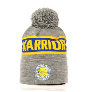 Mitchell & Ness Golden State Warriors Beanie grey/royal Team Tone Knit