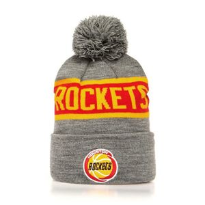 Mitchell & Ness Houston Rockets Beanie grey/red Team Tone Knit