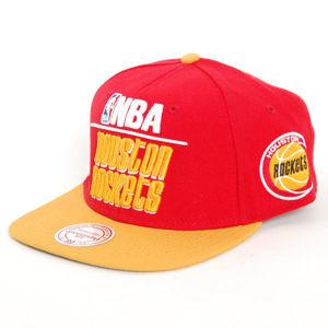 Mitchell & Ness Houston Rockets Media 2T Snapback Cap