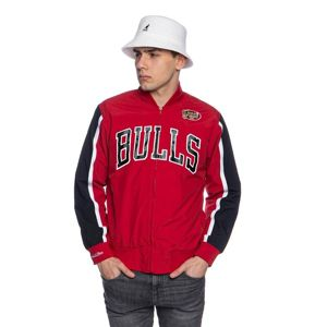 Mitchell & Ness jacket Chicago Bulls red NBA Hook Shot Warm Up Jacket