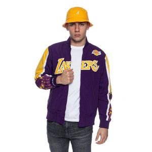Mitchell & Ness Jacket Los Angeles Lakers purple NBA Hook Shot Warm Up Jacket