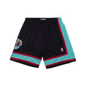Mitchell & Ness shorts Vancouver Grizzlies black/teal Swingman Shorts