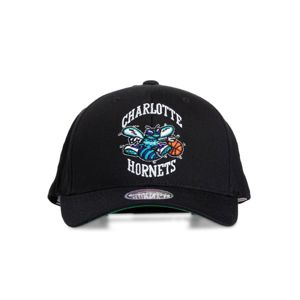 Mitchell & Ness snapback Charlotte Hornets black Team Logo High Crown 6 Panel 110 Snapback