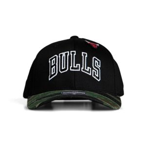 Mitchell & Ness snapback Chicago Bulls black/camo Tiger Camo 110