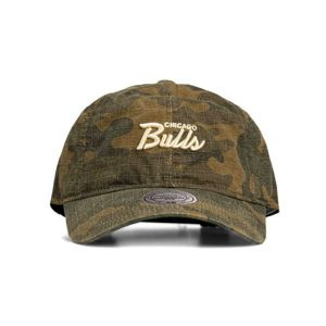Mitchell & Ness snapback Chicago Bulls camo Camo Ripstop Slouch