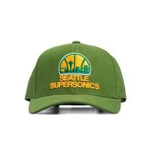 Mitchell & Ness snapback Seattle Supersonics green Cardinal 110 Snapback