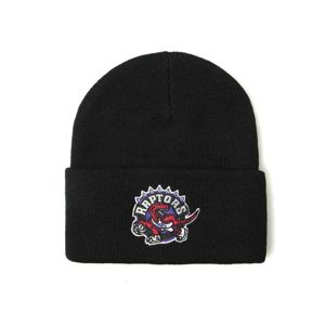 Mitchell & Ness Toronto Raptors Beanie black Team Logo Cuff Knit