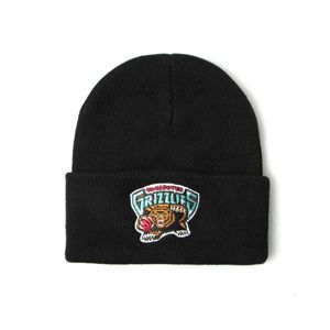 Mitchell & Ness Vancouver Grizzlies Beanie black Team Logo Cuff Knit