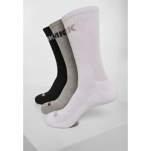 Mr. Tee AMK Socks 3-Pack black/grey/white