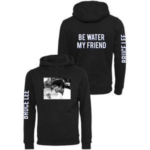 Mr. Tee Bruce Lee Be Water My Friend Hoody black