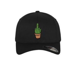Mr. Tee Cactus Flexfit Cap schwarz