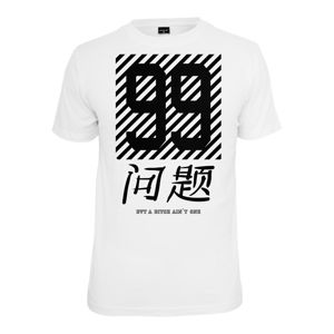 Mr. Tee Chinese Problems T-Shirt white