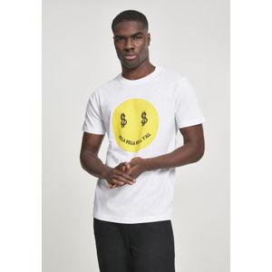Mr. Tee Dolla Smile Tee white