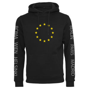 Mr. Tee Euro Capital Hoody black