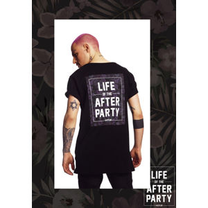 Mr. Tee Hustler Afterparty Tee black
