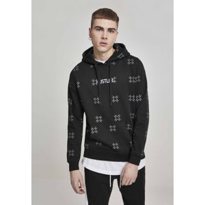 Mr. Tee Hustler AOP Hoody black