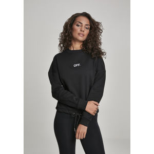 Mr. Tee Ladies OFF Oversize Crewneck black
