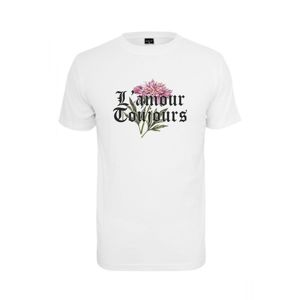 Mr. Tee Mister Tee L´Amour Toujous Tee white
