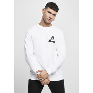 Mr. Tee Mister Tee Triangle Crewneck white