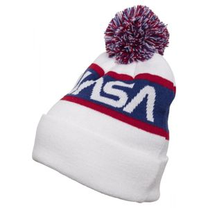 Mr. Tee NASA Beanie Knitted wht/blue/red